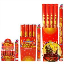 20 50 80cm Party CONFETTI Cannons Poppers Shooter Wedding New Years Large Giant