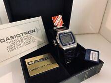 Casio Casiotron CS29-11 World Time  Computer Watch LCD Watch Quartz LCD  Watch