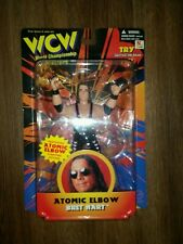 Vintage Bret Hart Atomic Elbow NWO WCW Wrestling Figure Toy