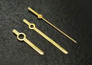 Zeigersatz 150/090/018 Zeiger Balken gold - Certina 25-xxx, Movado, Osco - G6