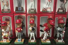 Cincinnati REDS 2012/13 Bobblehead LOT - Frazier, Bruce, Chapman, Phillips +