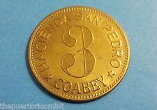 token HACIENDA SAN PEDRO 3 ALMUD COABEY JAYUYA réplica 2009 Puerto Rico