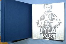 ON THE EDGE - IMAGES FROM 100 YEARS OF VOGUE 1992 HC/DJ 1st Ed