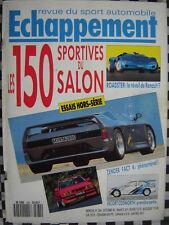 ECHAPPEMENT 1990 BMW ALPINA B10 BITURBO / RENAULT 19 16S CHAMADE / AUDI COUPÉ S2