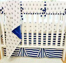 My Little Captain Bedding Set, Baby Nursery Set, Baby Crib Set, Bows, Rail cover