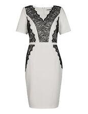 Marks and Spencer No Pattern V Neck Short Sleeve Women's Dresses