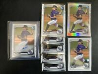 2020 Bowman Chrome Draft CASE WILLIAMS Lot Auto Refractor 1st Edition Paper RC