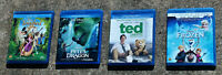 DISNEY BLU-RAY LOT: TANGLED, PETE'S DRAGON, TED, FROZEN