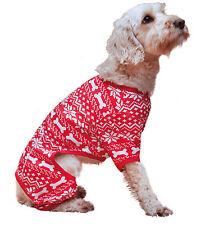 Rosewood Christmas Festive Dog Pyjamas Medium 32cm Xmas Design