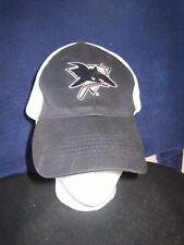 SAN JOSE SHARKS STRETCH BASEBALL HAT CAP ADULT ONE SIZE NHL HOCKEY SJ MINT