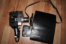 Bell & Howell Autoload optronic eye movie camera standar8 regular8 2x8 1963