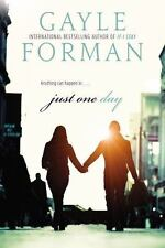 Just One Day by Gayle Forman (2013, Paperback)