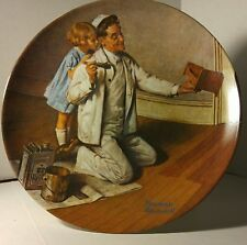 Norman Rockwell Heritage Collection Series Plate, The Painter