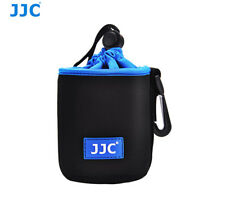 JJC Neoprene Lens Case Bag Pouch for Canon EF 50mm 1.8 1.4 1.8II Lens NLP-10