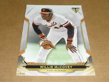 2019 Topps Triple Threads JUMBO 5 X 7 04/49 WILLIE MCCOVEY GIANTS #82