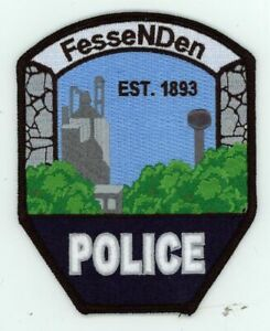 NORTH DAKOTA ND FESSENDEN POLICE NEW PATCH SHERIFF