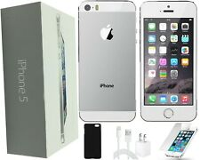 Apple iPhone 5s | 4.0-inch, 32Gb | Silver | Factory Unlocked | Bundle Included!