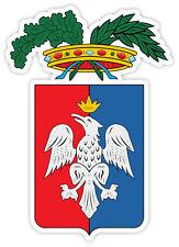 Roma stemma coat of arms Italy provincia Italia etichetta sticker 9cm x 13cm