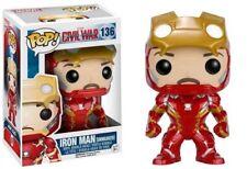 Figura Funko pop Marvel Iron Man Unmasked
