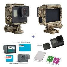 2017New The Frame Mount Housing Skeleton Case for GoPro Hero5 Black + for GoPro