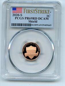 2020 S 1C Lincoln Cent PCGS PR69DCAM First Strike