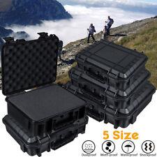 5 Größe Wasserdicht Universal Kunststoffkoffer Werkzeugkoffer Werkzeugbox D