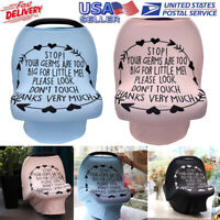 Baby Stretchy Nursing Breastfeeding Cover Multi Use Carseat Canopy Stroller