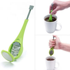 Hot Silicone Swirl Stir Gadget Tea Strainer Tea Infuser Home Accessories