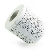 High Quality Funny Game Toilet Paper Roll Game loo Tissue Novelty Gift