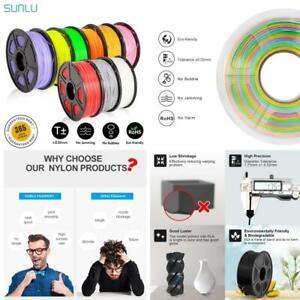 Sunlu 3D Filament 1.75Mm 1Kg Petg Abs Silk Pla Filament 3D Printer Materials Acc