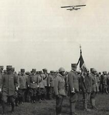 WW1 FOTO CAMPO VOLO MEDEUZZA DUCA D'AOSTA MEDAGLIA ORO VALORE MILITARE BARUZZI