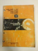 John Deere JD 544G 544G LL 544G TC 624G 644G Loader Operators Manual OEM