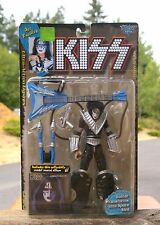 1997 KISS Ace Frehley Ultra Action Figure Guitar Space Sled Todd McFarlane Toys