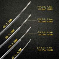 High-purity Sterling pure silver DIY hifi audio signal Bulk cable HIFI Diy