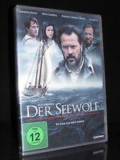 DVD DER SEEWOLF - NEUVERFILMUNG - JACK LONDON - NEVE CAMPBELL + TIM ROTH * NEU *