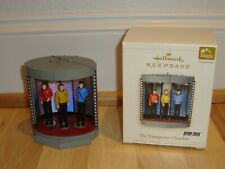 Hallmark Keepsake Magic Ornament Star Trek The Transporter Chamber 2006 + Box