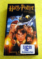 Harry Potter and The Sorcerer's Stone VHS 2002 Includes 5 Additional Minutes
