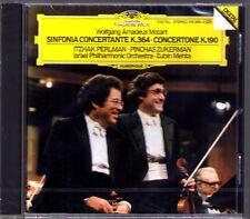 Itzhak PERLMAN & Pinchas ZUKERMAN: MOZART Sinfonia Concertante Zubin MEHTA DG CD