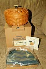 2006 Longaberger Lightship basket Collectors Club combo set 10505