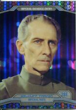 Star Wars Chrome Perspectives Refractor Parallel Base #28E Wilhuff Tarkin