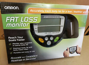 Omron HBF-306CN Fat Loss Monitor; Body Fat BMI analyzer; barely used, with box