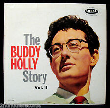 BUDDY HOLLY-THE BUDDY HOLLY STORY VOL. II-Near Mint Album-CORAL #CRL 57326