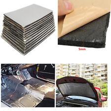 Universal 5mm Car Sound Deadener Mats Heat Flame Insulation Foam 30x50cm 12PCS