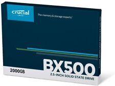 Crucial BX500 2TB SSD Internal 2.5in Solid State Drive (CT2000BX500SSD1)
