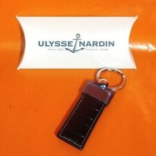 ULYSSE NARDIN LEATHER KEY RING - NEW - PROMO - OFFERS WELCOME