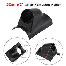 52mm 2'' Single Hole Car Boat Meter Gauge Pillar Dash Mount Pod Holder Bracket