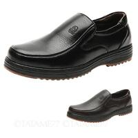 TATA Mens Real leather loafers comfy business Shoes NEW Size 5 6 7 8 9 10 11 12