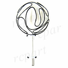 New in box formal Men's Suit chest brooch white black fabric flower lapel pin