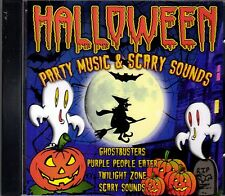 HALLOWEEN PARTY MUSIC & SCARY SOUNDS: SPOOKY SONGS & SOUND EFFECTS IMPORT CD NEW