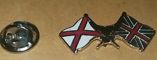 JERSEY FLAG X UNION JACK FLAG lapel badge UNITED KINGDOM CHANNEL ISLANDS